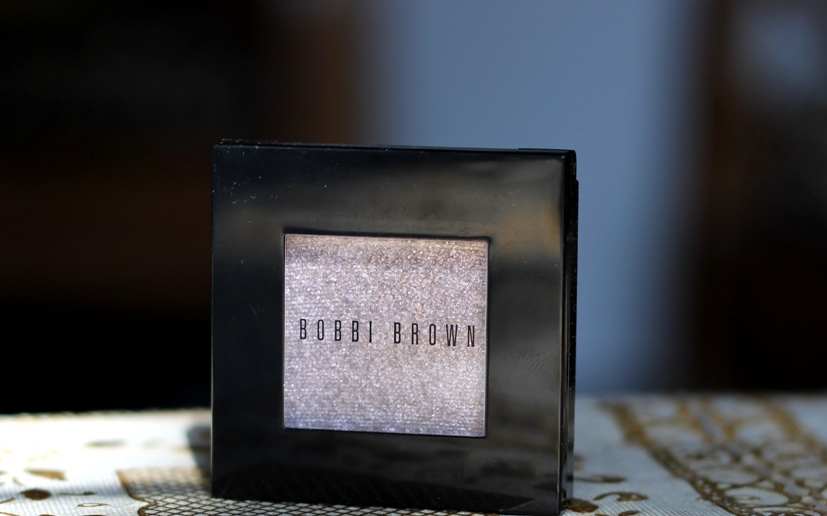 Bobbi Brown Sparkle Eyeshadow Silver Lilac Review Swatches EOTD (2)