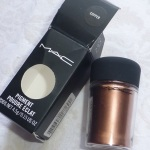 MAC Copper Pigment Review Swatches Photos EOTD