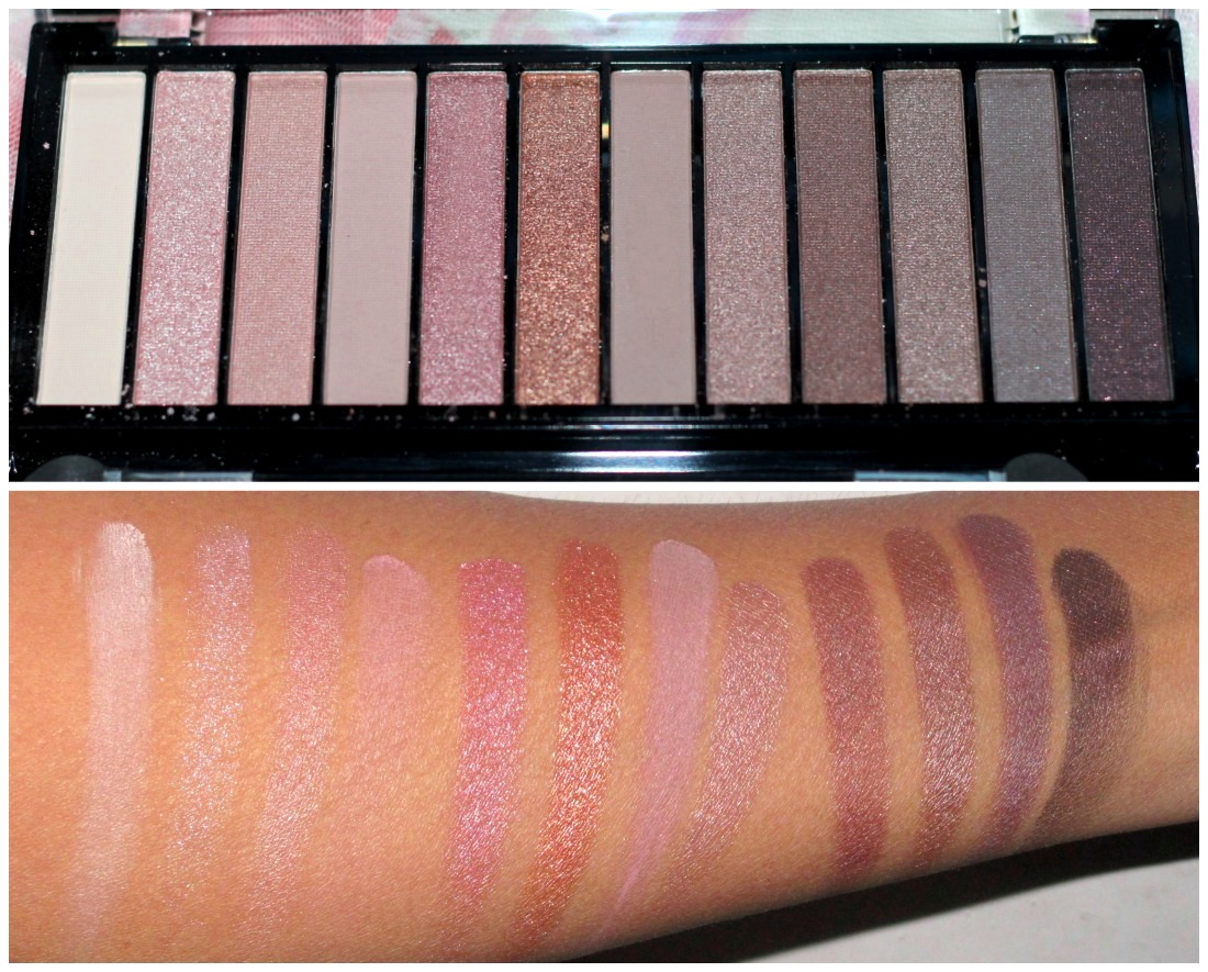 Image result for swatch palette makeup revolution