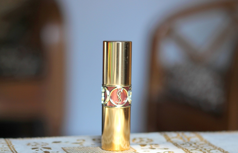 YSL Rouge Volupte Shine No 7 Rose Infinite Review Swatches Photos