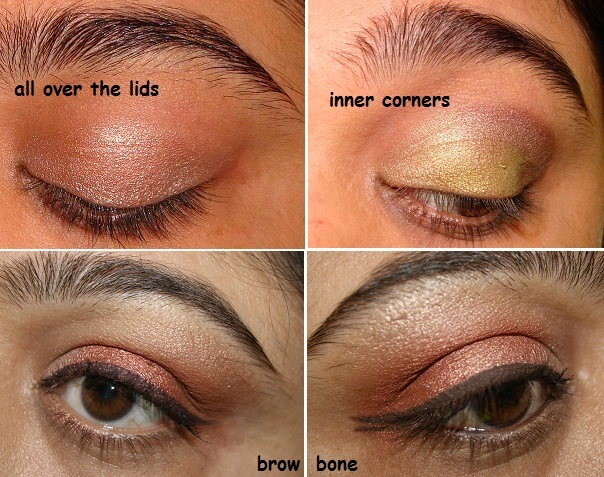 What I don't like about MAC All That Glitters Eyeshadow: