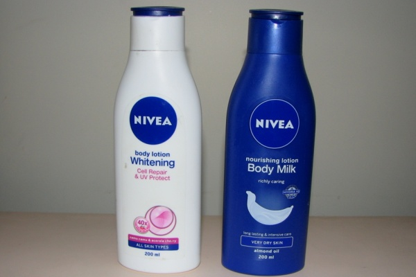 Review Nivea Body Lotion Whitening Body Milk for very dry skin (2)