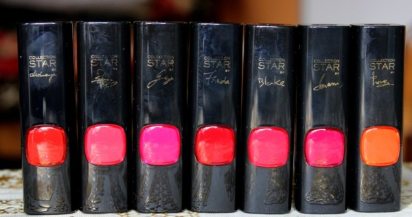 L'Oreal Color Riche Collection Star Range Swatches Review Photos Price India (1)