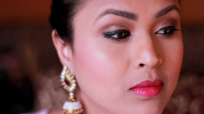 Indian Wedding Series - Sangeet Makeup Look (2)