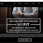 Van Heusen MyFit Collection Experience