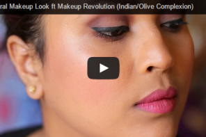 Neutral Makeup Look ft Makeup Revolution (Indian/Olive Complexion)