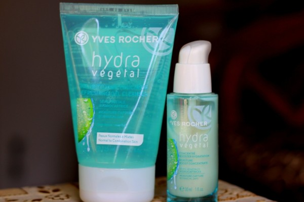 Yves Rocher Hydra Vegetal Moisture Boost Concentrate & Refreshing Cleanser Review