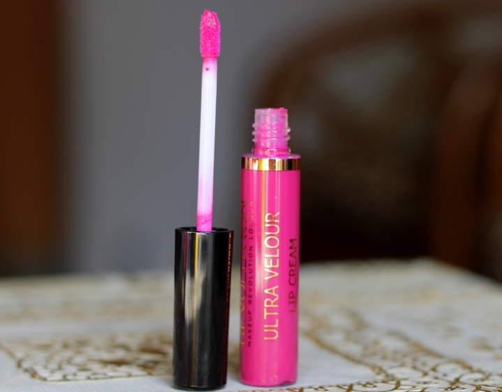 Makeup Revolution Ultra Velour Lip Cream All I Think About Is You Review Swatches Photos
