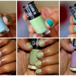 Maybelline Go Graffiti Color Show Blueberry Bombshell, Green Graffiti, Lucky Lavender review swatches photos