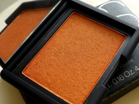 NARS TAJ MAHAL Blush Review Swatches Demo India (2)