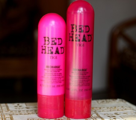 Bed Head TIGI Recharge Shampoo & Conditioner review
