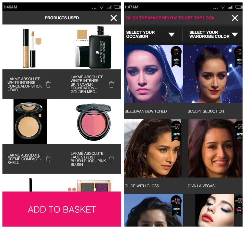 Lakme Makeup Pro App Review & How To Use ItBe Beautilicious