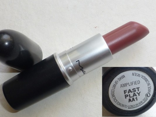 MAC Fast Play Lipstick Review Swatches Photos (3)