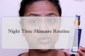 Night Time Skincare Routine Acne Prone Skin + Giveaway Winner Announced