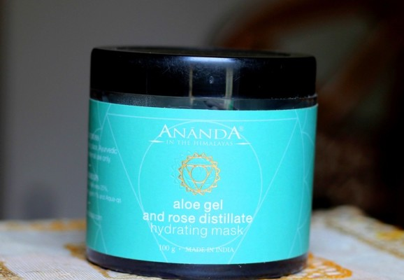 Ananda Aloe Gel & Rose Distillate Hydrating Facial Mask review photos price (1)