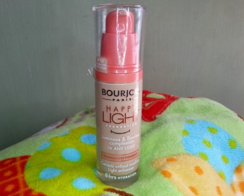 Bourjois Happy Light Foundation Review Swatches Photos  (2)