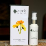Organic Harvest Sunscreen for Oily Skin SPF 30 Review