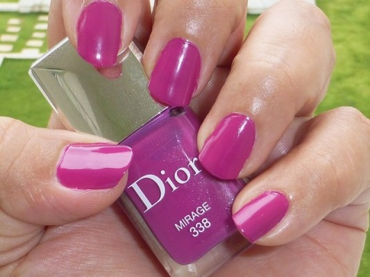 DIOR Vernis Mirage 338 Review Swatches Photos (4)