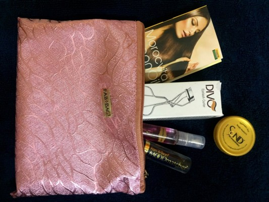 August 2015 Fab Bag Review Photos  Price (2)