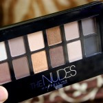 Maybelline The Nudes Eyeshadow Palette Review Swatches Photos
