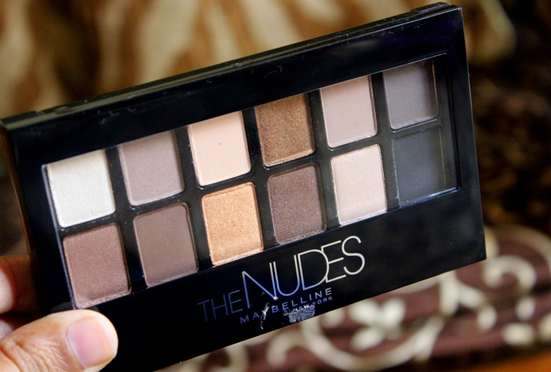 Maybelline The Nudes Eyeshadow Palette Review Swatch Photosbe