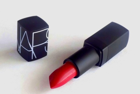 NARS Semi Matte Lipstick in Shanghai Express Review swatches photos (3)