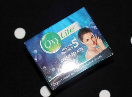 Oxylife Natural Radiance 5 Crème Bleach Review (2)