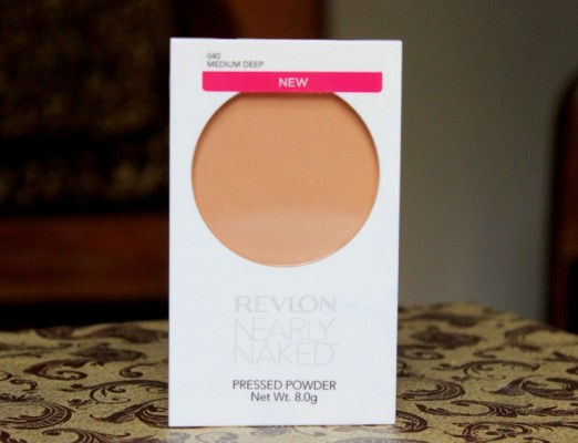 Revlon Nearly Naked Pressed Powder Medium Deep Review Swatches Photos (2)