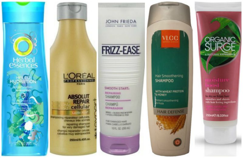 Best Shampoos For Dry Frizzy Hair In Indiabe Beautilicious