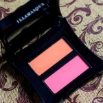 Illamasqua Powder Blusher Duo Lover & Hussy Review Swatches Photos