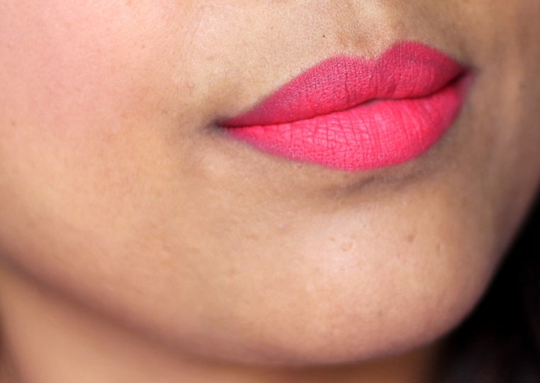 Lakme Absolute Lip Pout lip Tint Victorian Rose Review Swatches Photos