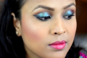 New Video :  Glam Festival Makeup Look ft Inglot Pure Pigment 85