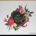 Unboxing & Review My Envy Box October 2015 – Second Anniversary Box