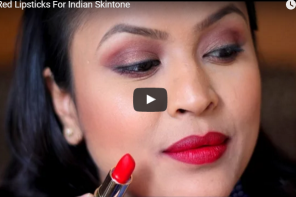 New Video :  10 Red Lipsticks For Indian Skintone