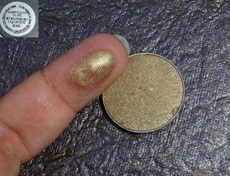 spirale probabile celebrare  MAC Sumptuous Olive Eye Shadow Review Swatches PhotosBe Beautilicious