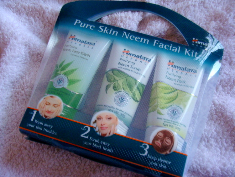 Himalaya Pure Skin Neem Facial Kit Review Price Photos buy online (2)
