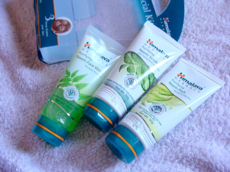 Himalaya Pure Skin Neem Facial Kit Review Price Photos buy online (3)