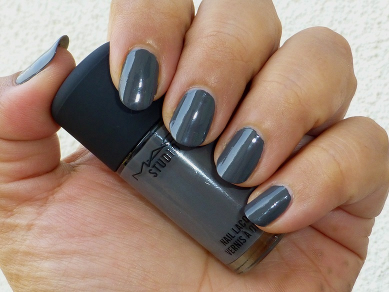 MAC Snazzy Hound Nail Polish Review Swatches Photos Price | Be ...