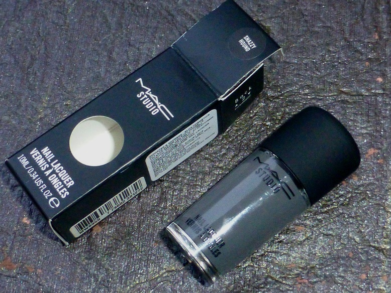 MAC Snazzy Hound Nail Polish Review Swatches Photos PriceBe ...