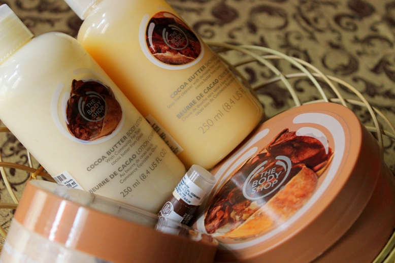 The Body Shop Cocoa Butter Range Review Photos Price (1)
