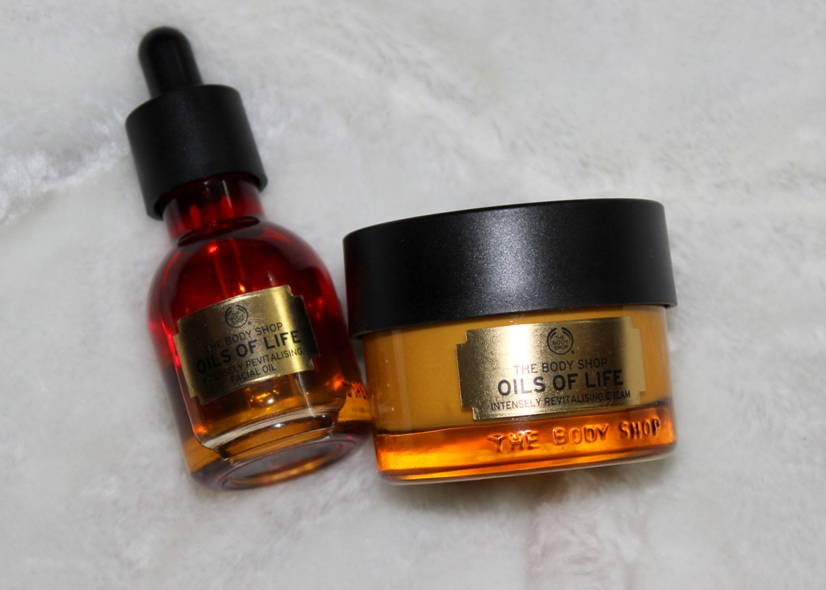Oils Of Life Intensely Revitalising Cream By The Body Shop