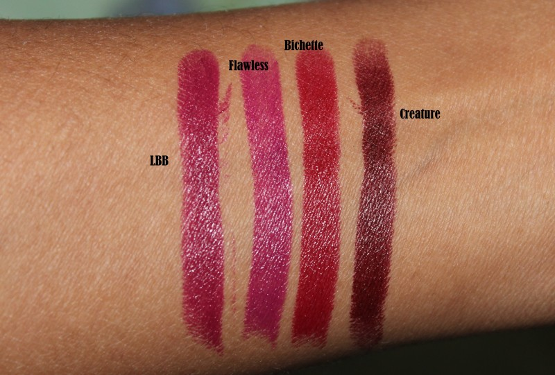 Colourpop Bichette, LBB, Flawless, Creature Lippie Stix (8)