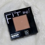 Maybelline Fit Me Set + Smooth Pressed Powder Review