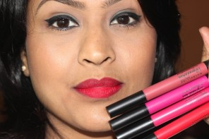 Maybelline Mauve1, Red2, Pink2, Fuchsia1 Lip Gradation Review Swatches Photos