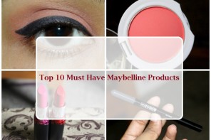 Top 10 Must Have Maybelline Products In India
