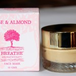 Breathe Aromatherapy Rose & Almond Mask Review Photos Price