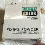 Kryolan Derma Color Camouflage System Fixing Powder Review Photos