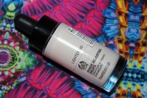 The Body Shop Lightening Shade Adjusting Drops Review Photos Demo Price India
