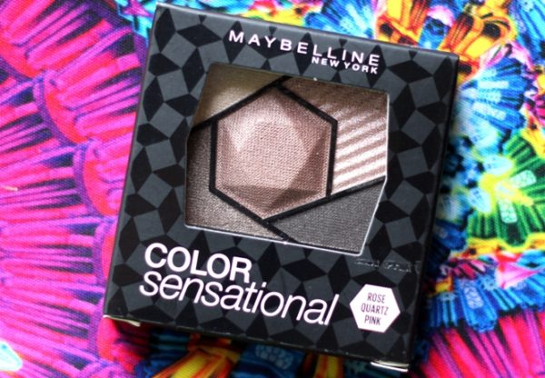 Maybelline Color Sensational Rose Quartz Pink Eyeshadow Review Swatches Photos  (5)