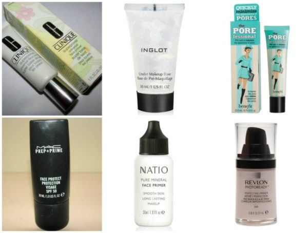 Top Face Primers for oily dry and combination skin india